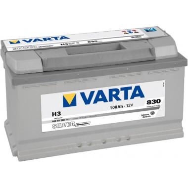 Батарея акумуляторна   VARTA    12В 100Ач 830A(EN) R+
