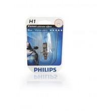Лампа h1 12v 55w p14.5s bluevision 4200k (блістер)