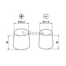 Батарея акумуляторна 12В 90Ач 720A(EN) R+