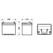 Батарея акумуляторна 12В 60Ач 540A(EN) L+