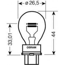 Лампа p27/7w 12v 27/7w w2,5x16q