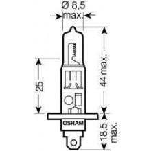 Лампа  h1 12v 55w p 14,5s