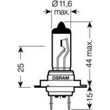 Лампа Ultra Life H7 12V 55W PX26D